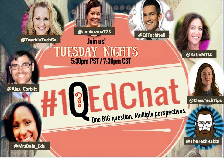 #1QEdChat moderator