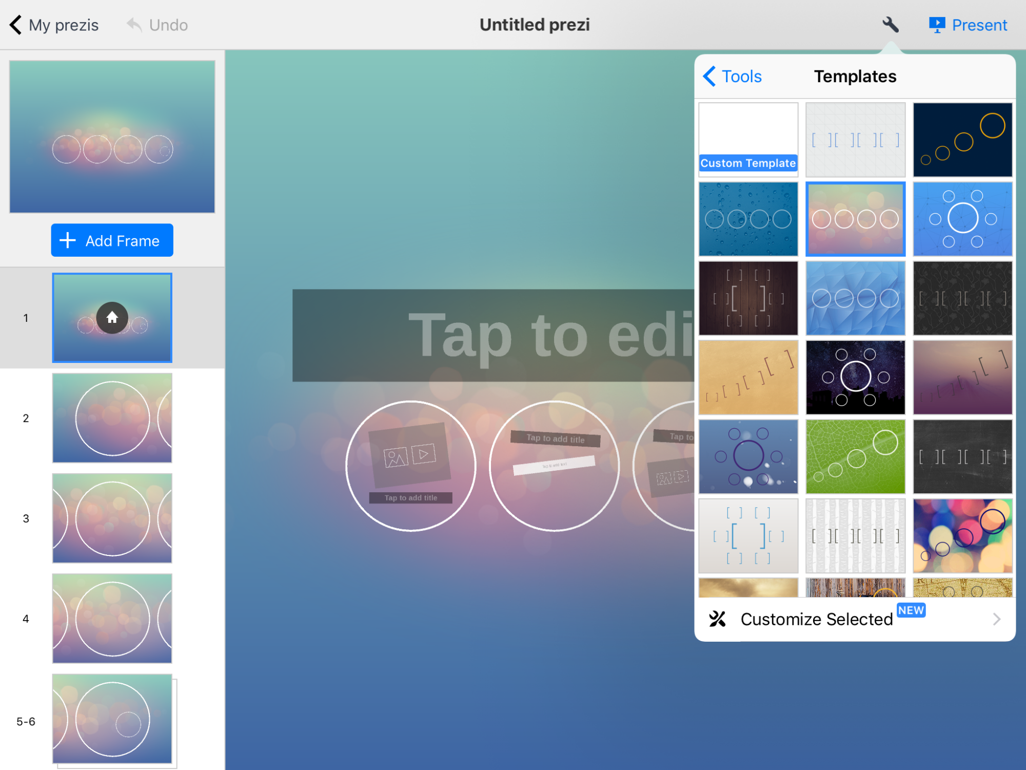 edtech tutorial how to use the app prezi to create an amazing