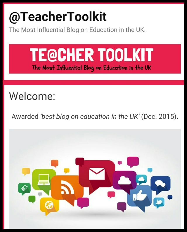 Great educational blogs