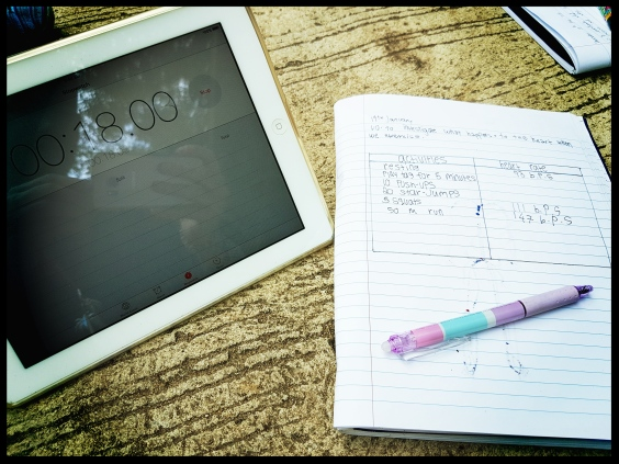 Technology in a science lesson
