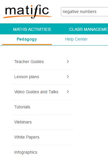 Matific Maths Teaching