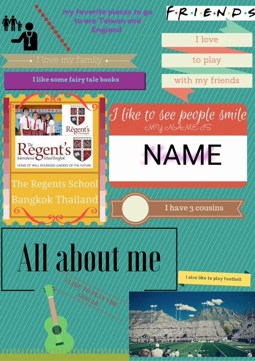 Canva poster making for the classroom