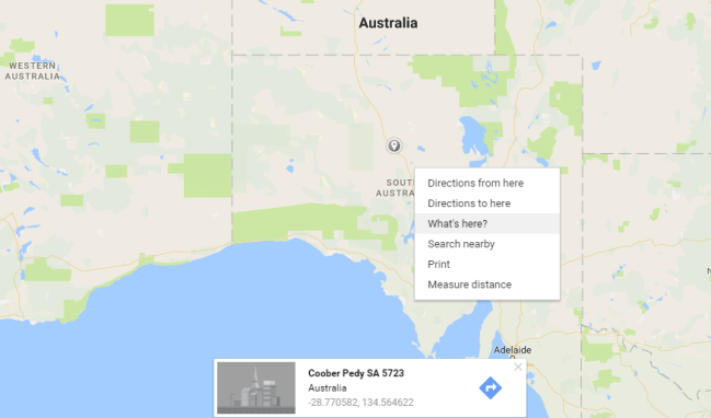 Google Maps for GPS coordinates