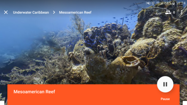 Example of teaching Google Expeditions