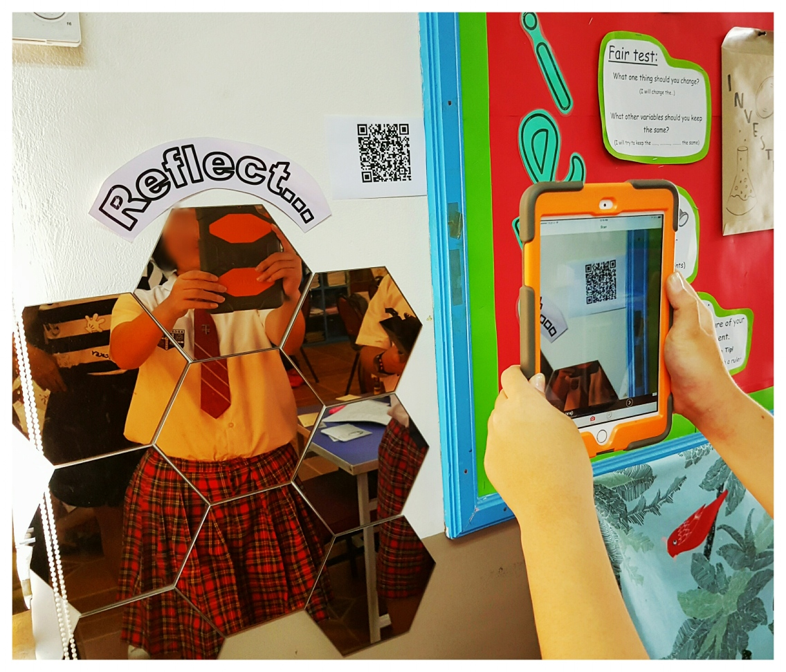 QR codes in lessons