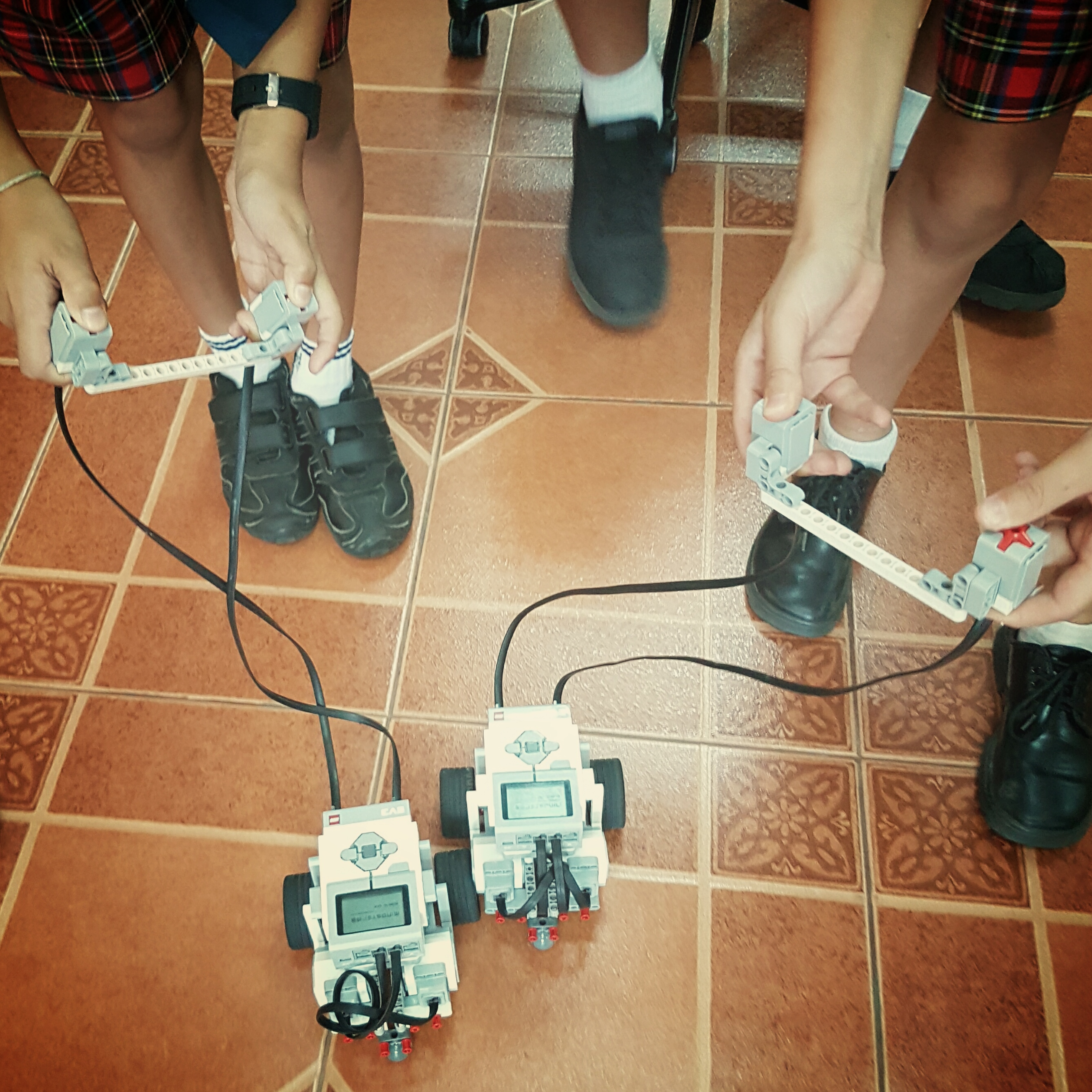 Teaching robotics in the classroom