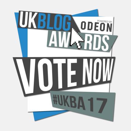 UK Blog Awards 2017 Nominee