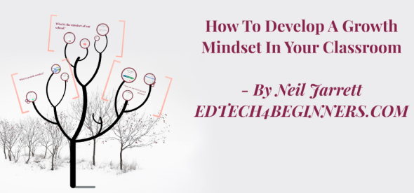 How to develop a growth mindset in your classroom