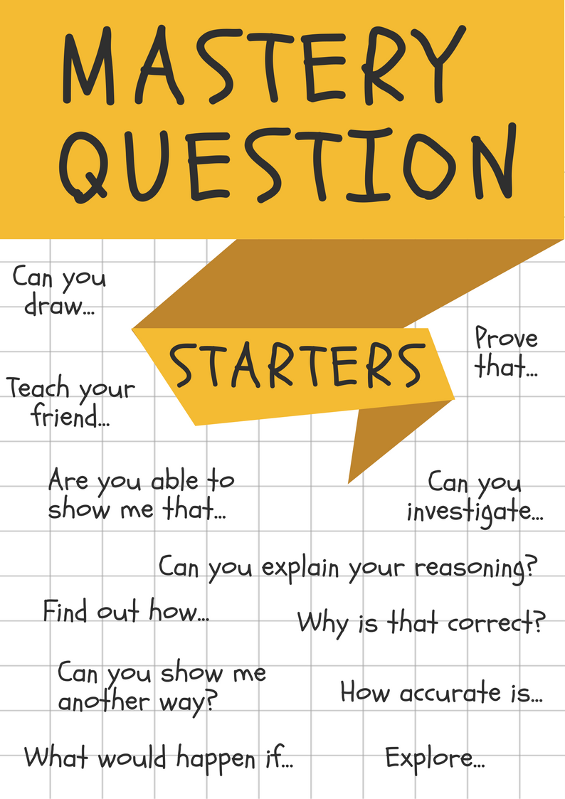 Mastery Questions Starters