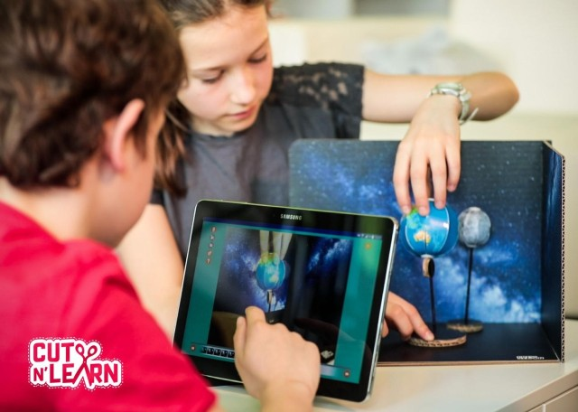 Cut N' Learn App For Science Lessons