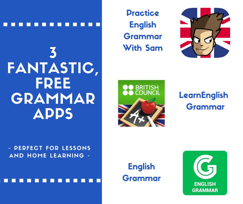Fantastic & Free Grammar Apps