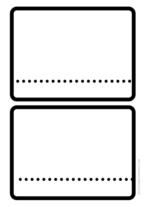 Early Years Story Writing Frame