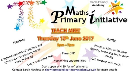 Maths Primary Initiative CPD, featuring EDTECH 4 BEGINNERS
