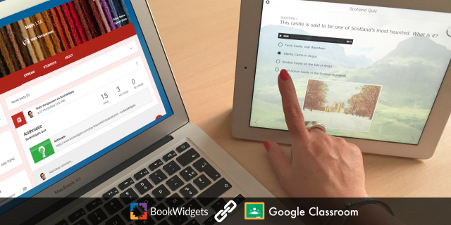 BookWidgets and Google Classroom
