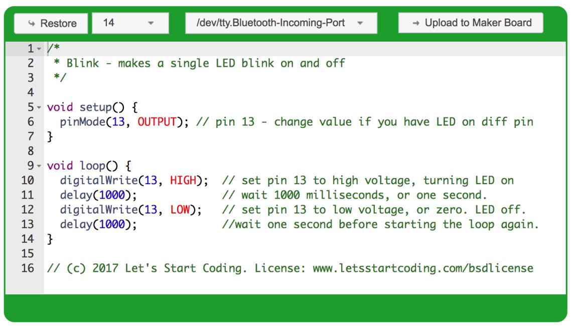 Lets start coding!