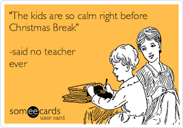 funny teachers Christmas
