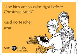 funny teachers Christmas