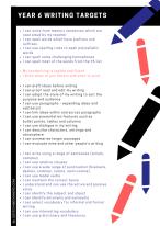 Year 6 Writing Targets