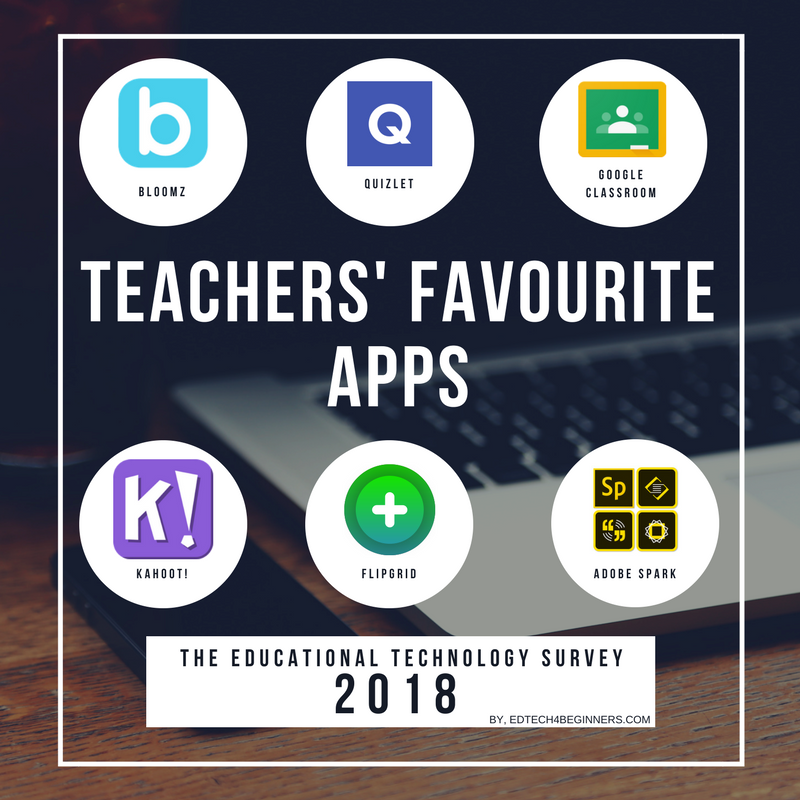 EDTECH SURVEY 2018 - EDTECH 4 BEGINNERS