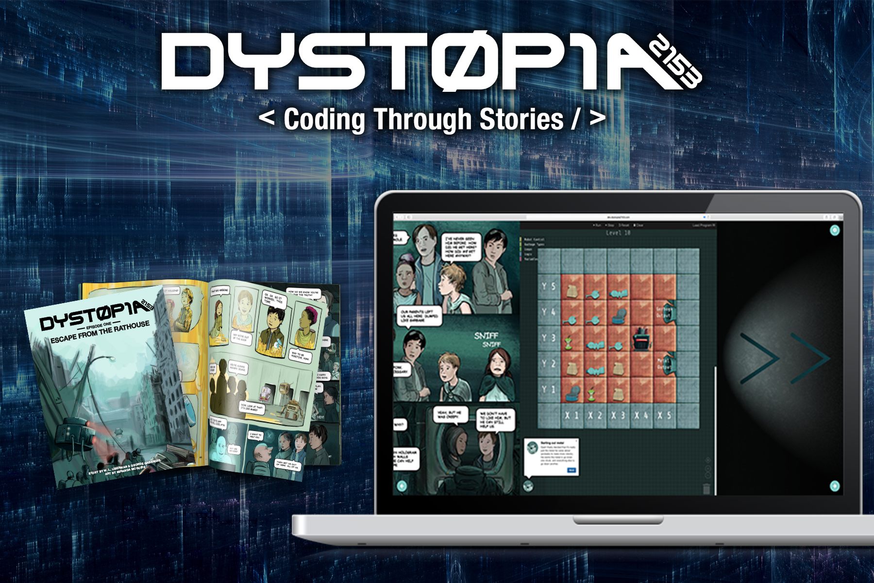 Dystopia - Coding Through Stories