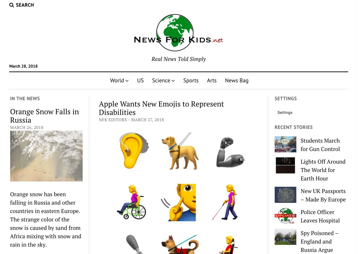 news for kids review