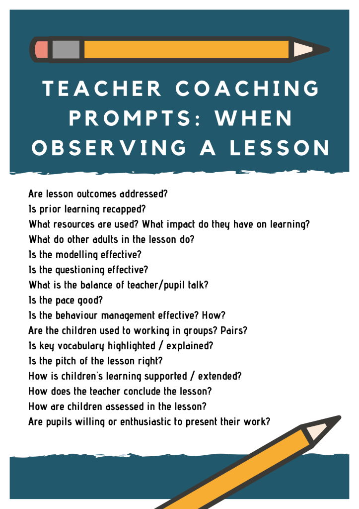 Coaching - teaching