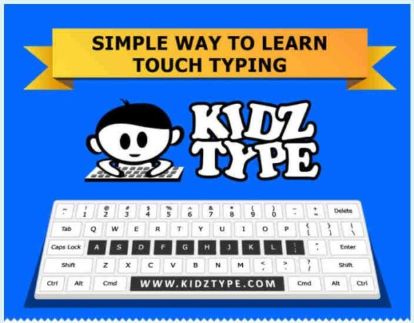 Kidz Type - a great website to learn touch-typing skills